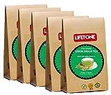 lifetone the tea for better life,Reiner Zitronengras-Tee| 100 Teebeutel | Packung mit 5 | Ganzer tropischer Kräutertee | Detox-Tee