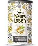 Neues Leben - Schwarzes Detox-Elixier - Formel mit Aktivkohle, Matcha, Aloe Vera, Chaga, Shiitake, Reishi - 600 Gramm Pulver
