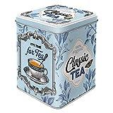 Nostalgic-Art 31302 Retro Teedose Classic Tea – Geschenk-Idee für Nostalgie-Fans, Aufbewahrung für losen Tee und Teebeutel, Vintage Design