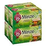 Teekanne Minze 20 Beutel, 4er Pack (4 x 45 g Packung)
