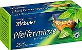 Meßmer Pfefferminze I 25 Teebeutel I Vegan I Glutenfrei I Laktosefrei